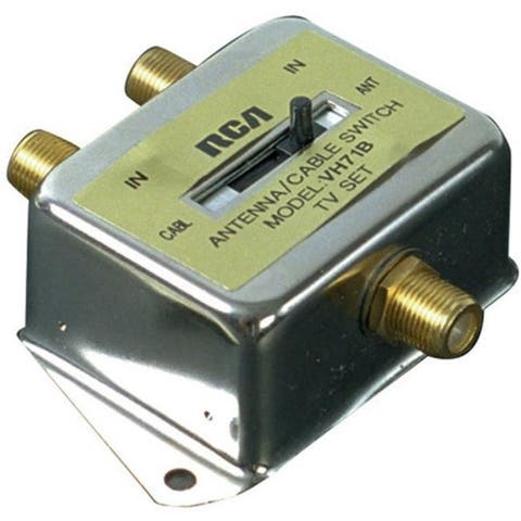Rca Vh71N 2-Way Coaxial Cable Switch