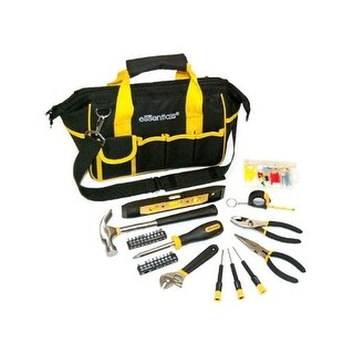 Great Neck 21044 Black Tool Bag, 32Pc