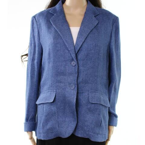 Lauren by Ralph Lauren Women's Two Button Blazer