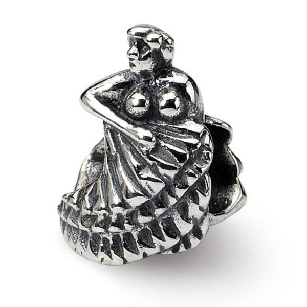 Sterling Silver Reflections Flamenco Dancer Bead (4mm Diameter Hole)