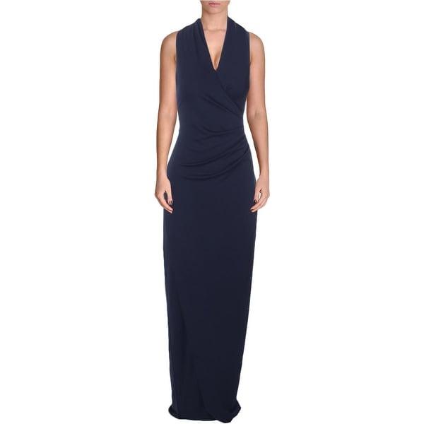 Nicole Miller Womens Formal Dress Sleeveless Full-Length