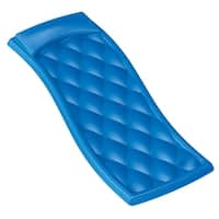 "68"" Bright Blue Aquaria Avena Quilted Swimming Pool Water Lounger"