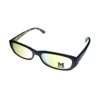 Missoni Opthalmic Eyeglass Mens Modifed Rectangle Black Plastic MM 007 - Medium