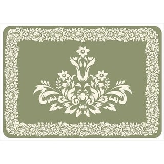 204911572231 Falcon Crest Mat in Sage - 1.83 ft. x 2.58 ft.