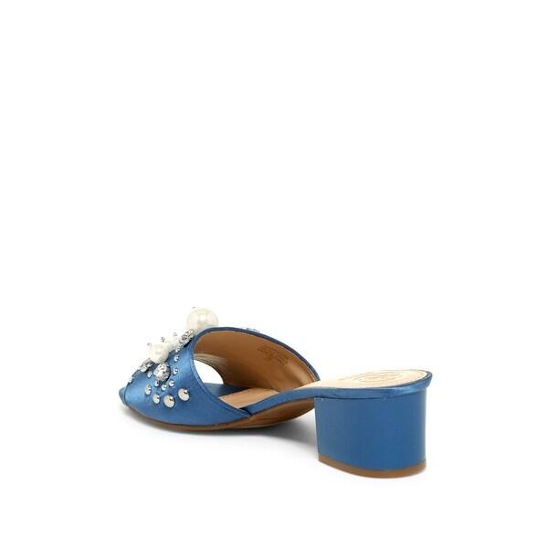 GUESS Womens Dancerr Fabric Open Toe Casual Slide Sandals
