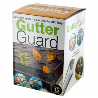 Bulk Buys OS390-24 Gutter Guard with Hooks