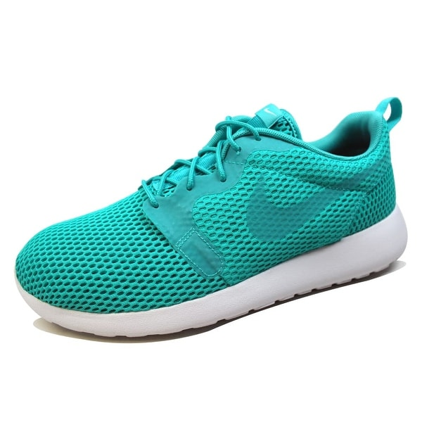 Nike Men's Roshe One Hyperfuse Breathe Clear Jade/Clear Jade-White 833125-300 Size 11