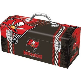 Sainty 79-329 Tampa Bay Buccaneers NFL Tool Box, 10""