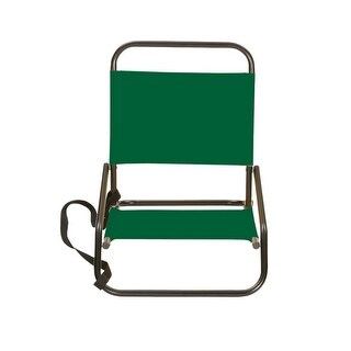 "Stansport G-12-10 Sandpiper Sand Chair 4""x16""x19"", Forest Green"
