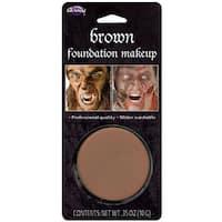 Foundation Makeup Adult Costume Makeup Brown