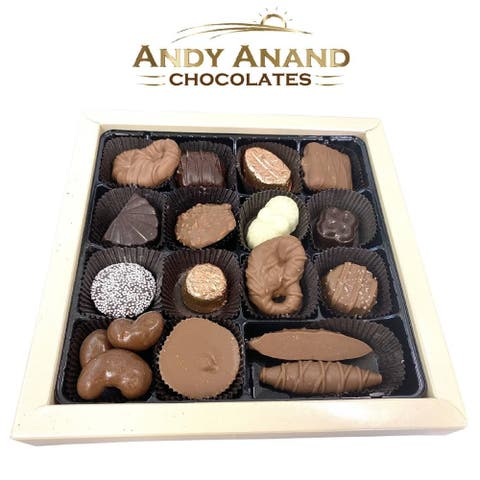 Andy Anand Belgian Chocolate & Truffles 18 pcs Amazing-Delicious Gift Boxed