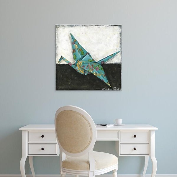 Easy Art Prints Chariklia Zarris's 'Crane' Premium Canvas Art