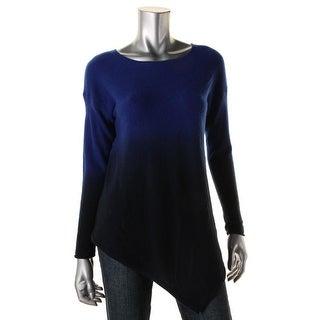 Private Label Womens Cashmere Asymmetric Tunic Sweater