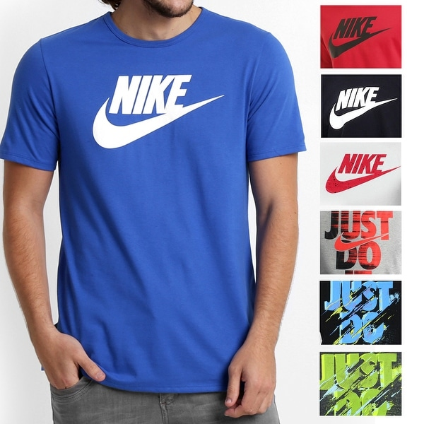 huge discount e4114 5d016 Nike NEW Mens Crewneck Athletic Cut Short Sleeve Original T-Shirt Tee
