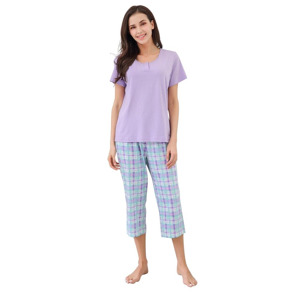 Richie House Pajamas Women Cotton Shirt - PJ Sets For Women T-Shirt Top by  Purchase