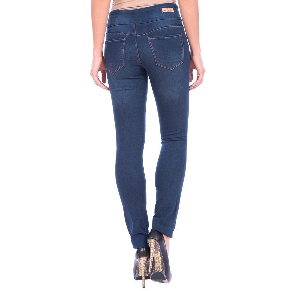 Lola Pull On Straight Jeans, Catherine-MSB - Thumbnail 1