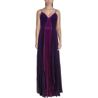 J. Mendel Womens Semi-Formal Dress Silk Two-Tone - 2