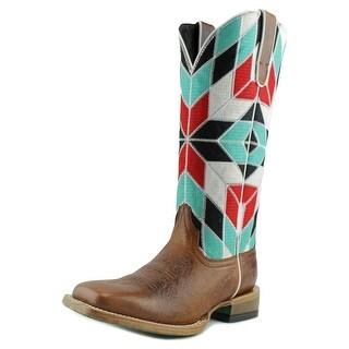 Ariat Mirada Men Square Toe Synthetic Multi Color Western Boot