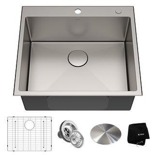 Link to KRAUS Standart PRO Stainless Steel Topmount Drop-In Kitchen Sink Similar Items in Sinks