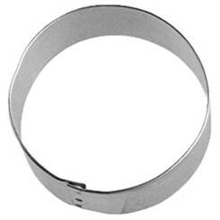 Circle - Metal Cookie Cutter 3""