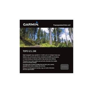 Garmin TOPO US 24K West Garmin TOPO US 24K West (microSD/SD card )