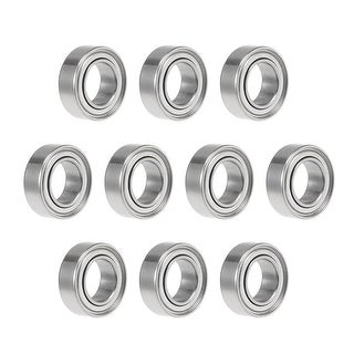 MR95ZZ Deep Groove Ball Bearing 5x9x3mm Double Shielded Chrome Bearings 10pcs - 10 Pack - MR95ZZ (5*9*3)
