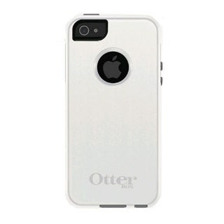 OtterBox Commuter Case for Apple iPhone 5/5s/SE - Glacier (White / Gunmetal Grey