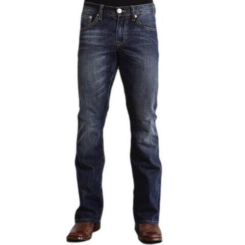 Stetson Western Denim Jeans Mens Rocks Fit Royal