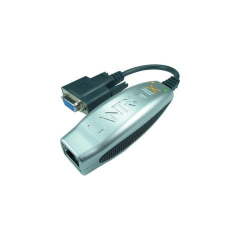 Lantronix XDT4851002-01-S Lantronix xDirect485 Single Port RS232/422/485 10/100 Device Server - 1 x Network (RJ-45) - 1 x Serial