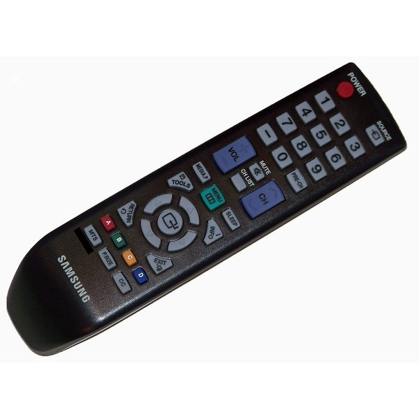 OEM Samsung Remote Control: LN19D450G1D, LN19D450G1DXZA, LN19D450G1DXZAPY01, LN19D450G1DXZC, LN19D450G1DXZX