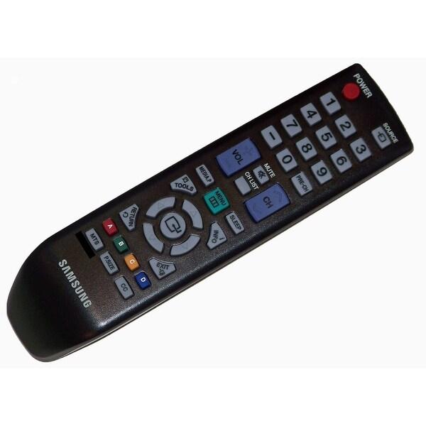 OEM Samsung Remote Control: LN22D450G1F, LN22D450G1FXZA, LN22D450G1FXZACY01, LN22D450G1FXZC, LN22D450G1FXZX