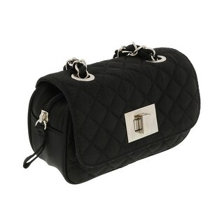 Scheilan Black Satin Quilted Boxy Crossbody Bag - 6.5-4-2|https://ak1.ostkcdn.com/images/products/is/images/direct/28976b8ed7ac7e9fef4f8fcc9f045ecbd304f72d/Scheilan-Black-Satin-Quilted-Boxy-Crossbody-Bag.jpg?_ostk_perf_=percv&impolicy=medium