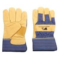 Wells Lamont 5235M Men's Leather Palm Gloves, Medium
