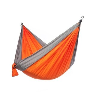 Just Relax Double Portable Lightweight Camping Hammock, 10.6x6.6 Feet