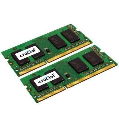 Crucial Ct2k8g3s186dm 16Gb (8Gbx2) Ddr3l 1866 Mt/S Sodimm 204-Pin Memory For Mac