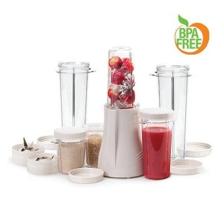 Tribest PB-250XL-A Complete Personal Blender w/ 2 XL Cups 120V/60Hz - White