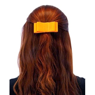 Prim N Proper Flat Ribbon Hair Bow