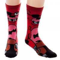 Five Nights at Freddy's Foxy 360 Crew Socks - Multi