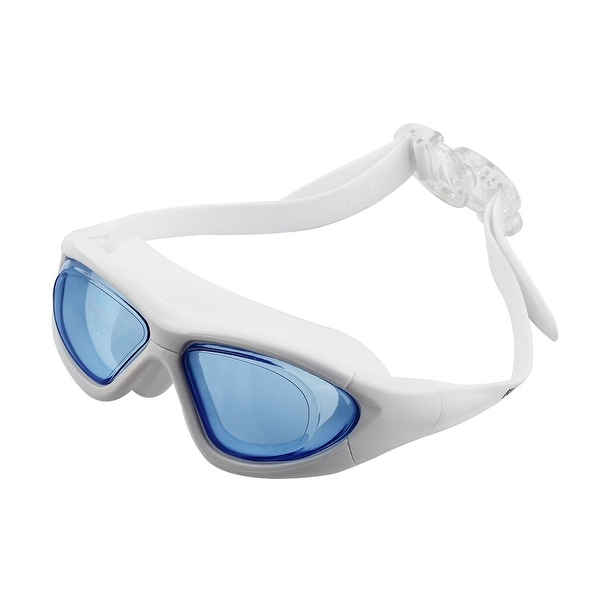 3e02705decde Clear Wide Vision Anti Fog Adjustable Belt Swim Glasses Swimming Goggles w  Storage Case for Adult