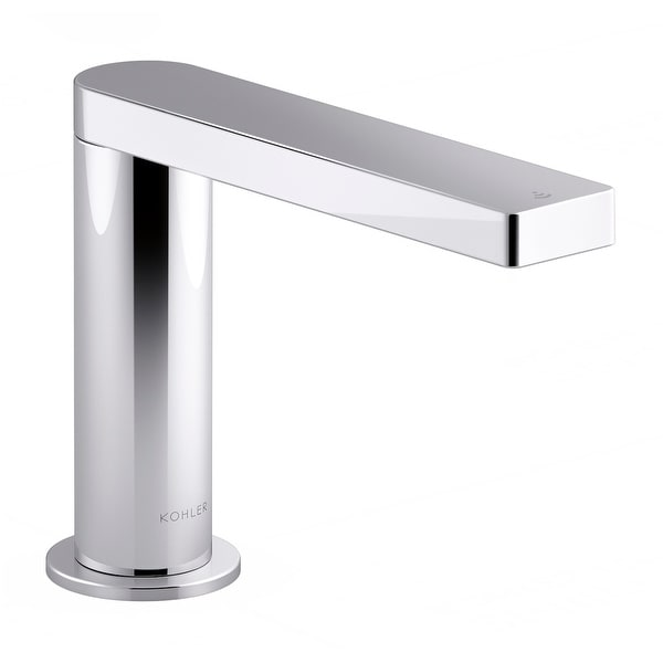 Kohler K-104C37-SANA Composed 0.5 GPM Single Hole Touchless Bathroom Faucet with Grid Drain, Kinesis Sensor and Mixer,