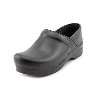 Dansko Professional Cabrio Women Round Toe Leather Black Clogs