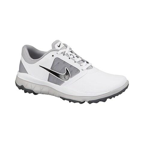 Nike Women's FI Impact White/Grey/Black Golf Shoes 611509-103/612661-103
