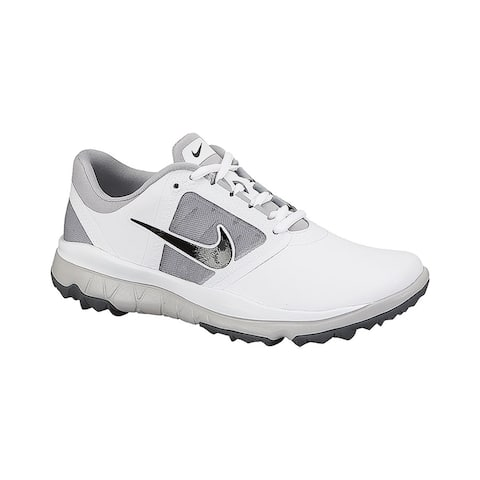 Nike Women's FI Impact White/Grey/Black Golf Shoes 611509-103/612661-103