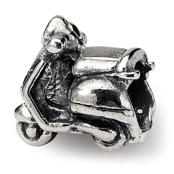 Sterling Silver Reflections Kids Scooter Bead (4mm Diameter Hole)