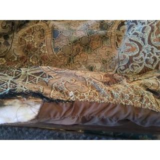 Madison Park Wyeth Spa 8 Piece Chenille Jacquard Comforter Set