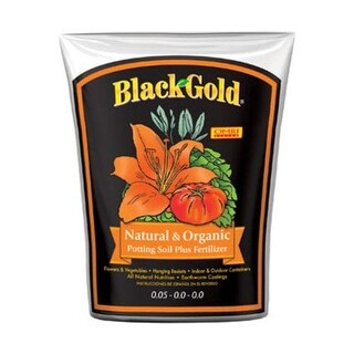 Black Gold 1402040 8. QT P Natural & Organic Potting Soil, 8 Quart