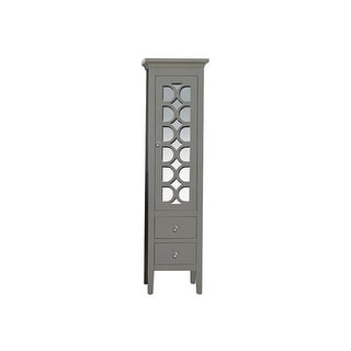 """Miseno MSC-MAR Mare 67"""" Solid Wood Linen Tower"""