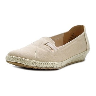 Beacon Picnic Women N/S Round Toe Canvas Tan Espadrille