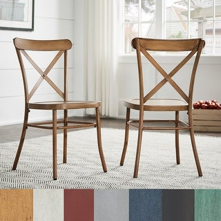 Link to Pompey Metal Dining Chairs (Set of 2) by iNSPIRE Q Classic Similar Items in Dining Room & Bar Furniture