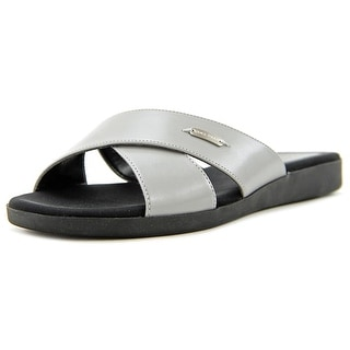 Cole Haan Augusta Sandal Women Open Toe Leather Slides Sandal